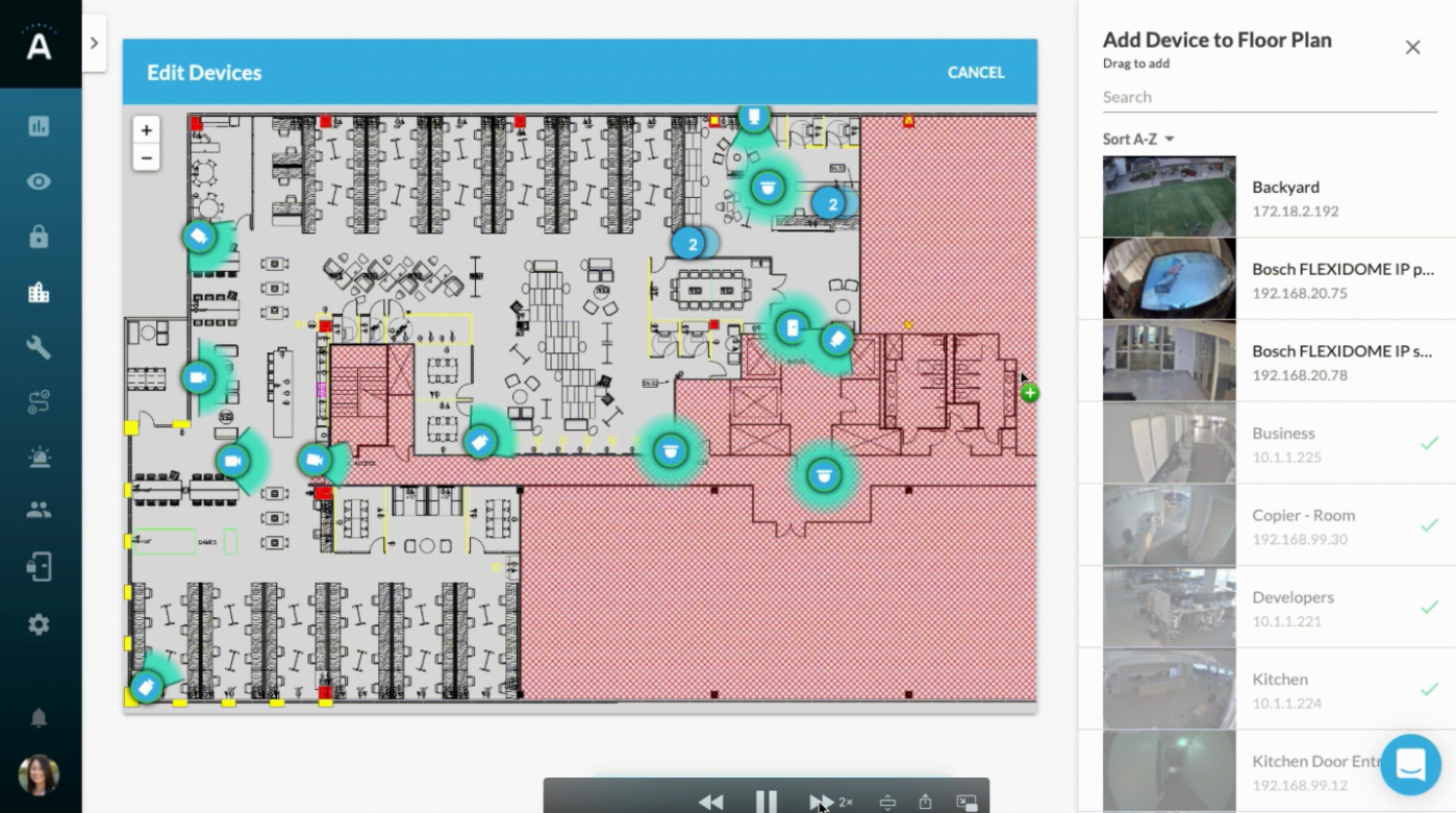 New Feature: Floor Plan for Faster Workflows